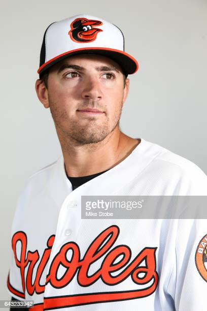 Kevin Gausman of the Baltimore Orioles poses for a portait during a MLB photo day at Ed Smith Stadium on February 20 2017 in Sarasota Florida