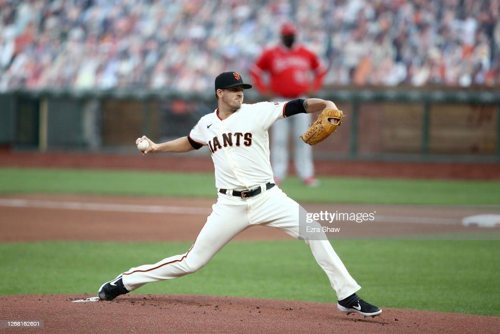 Los Angeles Angels v San Francisco Giants : News Photo