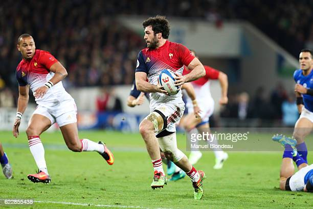 Kevin Gourdon of France during the rugby test match between France and Samoa on November 12 2016 in Toulouse France