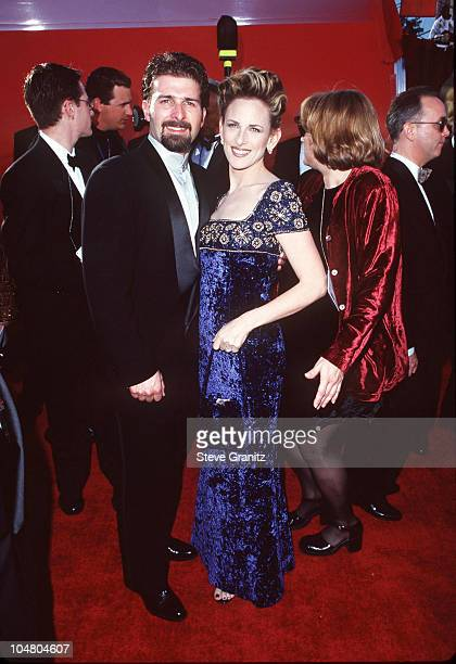 Kevin Grandalski and Marlee Matlin during The 70th Annual Academy Awards Red Carpet at Shrine Auditorium in Los Angeles California United States