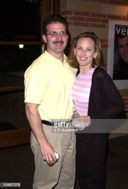 Kevin Grandalski Marlee Matlin during Revlon/Ucla Breast Center Benefit at UCLA Royce Hall in Westwood California United States