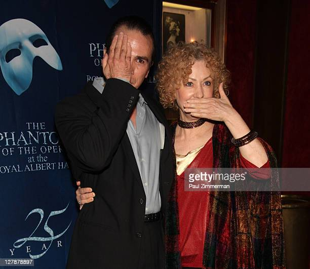 Kevin Gray and Marilyn Caskey attend the Phantom Of The Opera 25th Anniversary celebration at the Ziegfeld Theatre on October 2 2011 in New York City