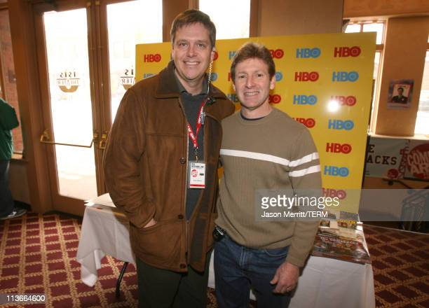 Kevin Haasarud and Gary Cole during HBO's 13th Annual U.S. Comedy Arts Festival - Shorts Program 1 at Isis in Aspen, Colorado, United States.