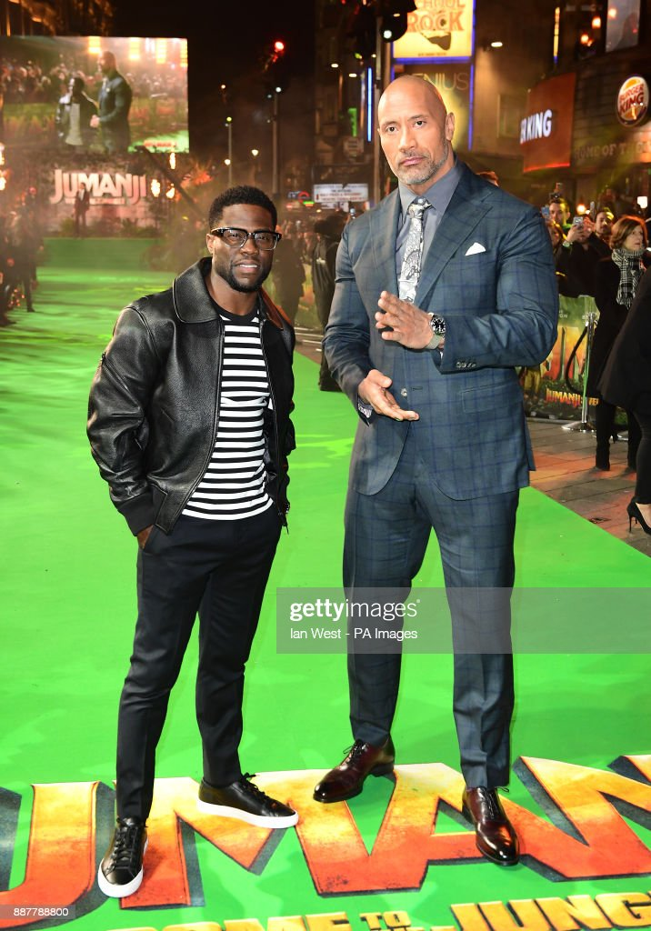 Jumanji: Welcome to the Jungle Premiere - London Pictures | Getty Images
