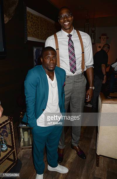 Kevin Hart and Dwight Howard attend Spike TV's Guys Choice 2013 at Sony Pictures Studios on June 8 2013 in Culver City California