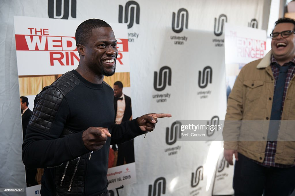 Kevin Hart And Josh Gad Host A Special Screening Of The Wedding