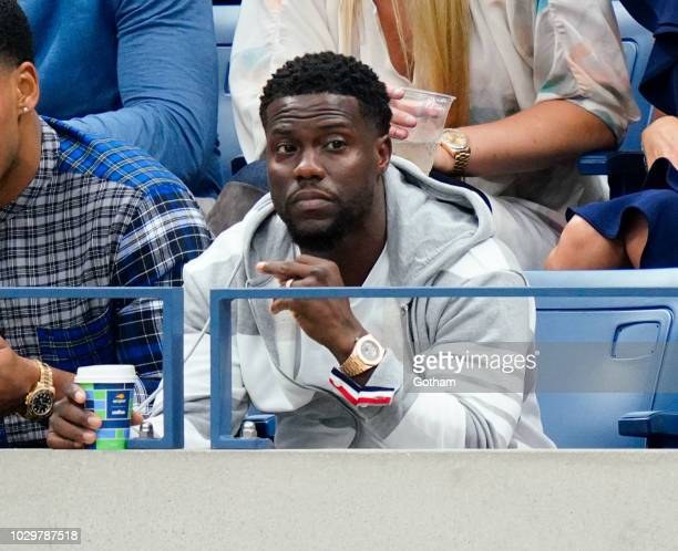 Kevin Hart at the 2018 US Open Women's Championship Game on September 8 2018 in New York City
