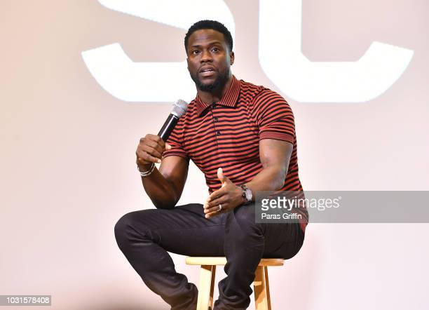 Kevin Hart attends Morehouse College REAL TALK with Night School actor Kevin Hart producer Will Packer at Morehouse College on September 11 2018 in...