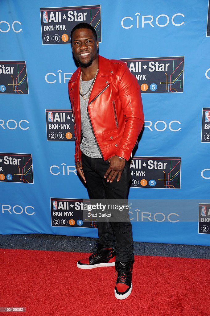 Kevin Hart attends State Farm All-Star Saturday Night - NBA All-Star Weekend 2015 at Barclays Center on February 14, 2015 in New York, New York.