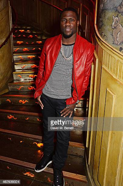Kevin Hart attends The Box 4th Birthday Party in partnership with Belvedere Vodka at The Box on February 7 2015 in London England