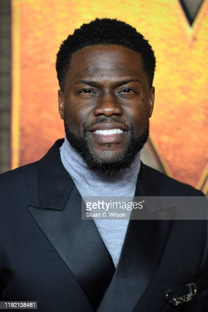 """Kevin Hart attends the """"Jumanji: The Next Level"""" UK Film Premiere at BFI Southbank on December 05, 2019 in London, England."""
