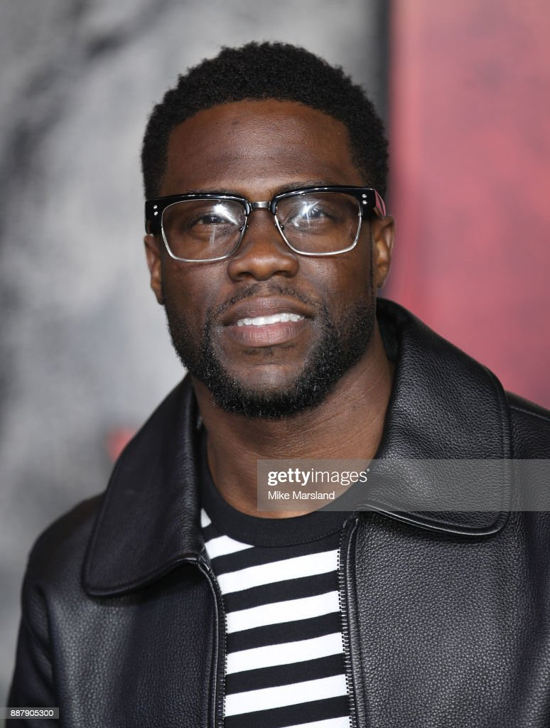 Kevin Hart attends the 'Jumanji: Welcome To The Jungle UK premiere held at Vue West End on December 7, 2017 in London, England.