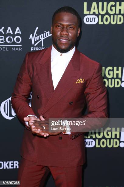 Kevin Hart attends the Kevin Hart and Jon Feltheimer Host Launch Of Laugh Out Loud at Private Residence on August 3 2017 in Beverly Hills California