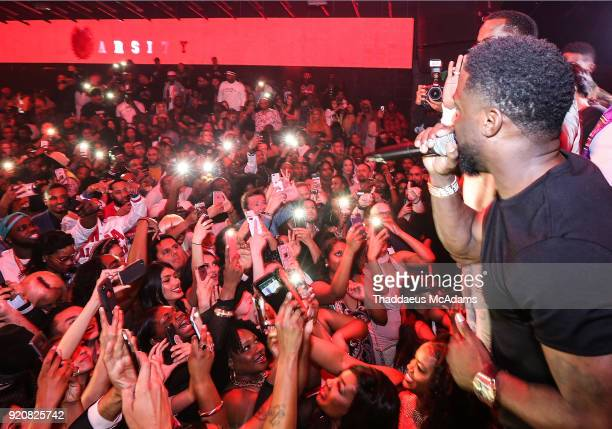 Kevin Hart attends the NBA AllStar Finale party on February 18 2018 in Los Angeles California