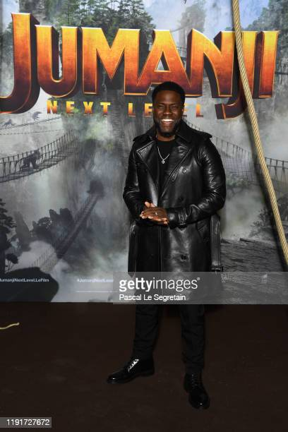 Kevin Hart attends the photocall of Jumanji Next Level film at le Grand Rex on December 03 2019 in Paris France