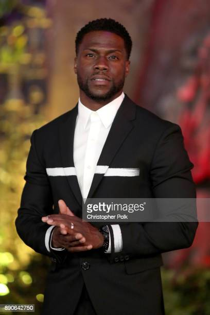 Kevin Hart attends the premiere of Columbia Pictures' Jumanji Welcome To The Jungle on December 11 2017 in Hollywood California