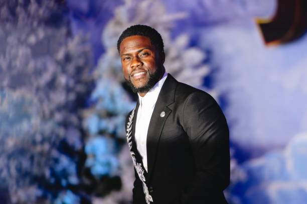 Kevin Hart attends the premiere of Sony Pictures'