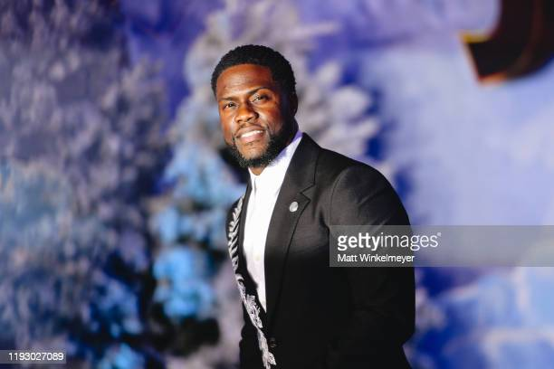 """Kevin Hart attends the premiere of Sony Pictures' """"Jumanji: The Next Level"""" on December 09, 2019 in Hollywood, California."""