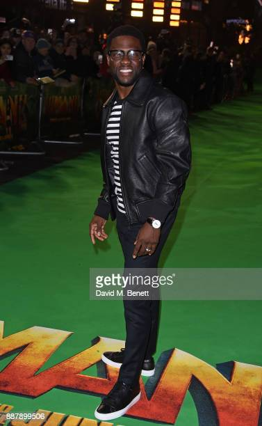 Kevin Hart attends the UK Premiere of 'Jumanji Welcome To The Jungle' at Vue West End on December 7 2017 in London England