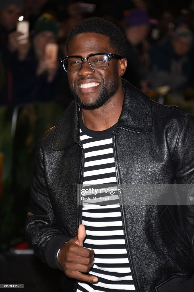Kevin Hart attends the UK Premiere of 'Jumanji: Welcome To The Jungle' at Vue West End on December 7, 2017 in London, England.
