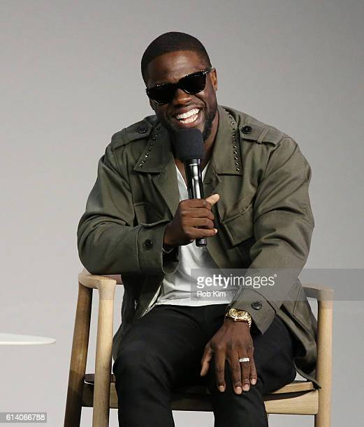 Kevin Hart discusses 'Kevin Hart What Now' at Apple Store Soho on October 11 2016 in New York City