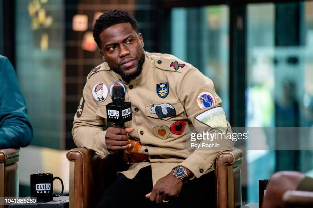 Kevin Hart discusses Night School with the Build Series at Build Studio on September 26 2018 in New York City