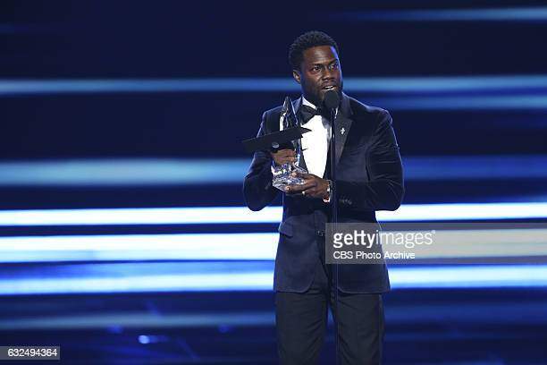 Kevin Hart, during the PEOPLE'S CHOICE AWARDS 2017, the only major awards show where fans determine the nominees and winners across categories of...