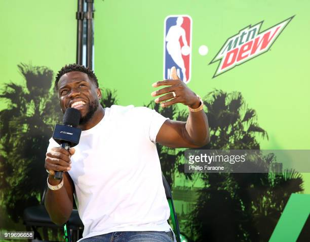 Kevin Hart encourages fans to enter his #CourtSidekickContest for the chance to sit courtside with Kevin during the 2018 NBA Playoffs at Mtn Dew...