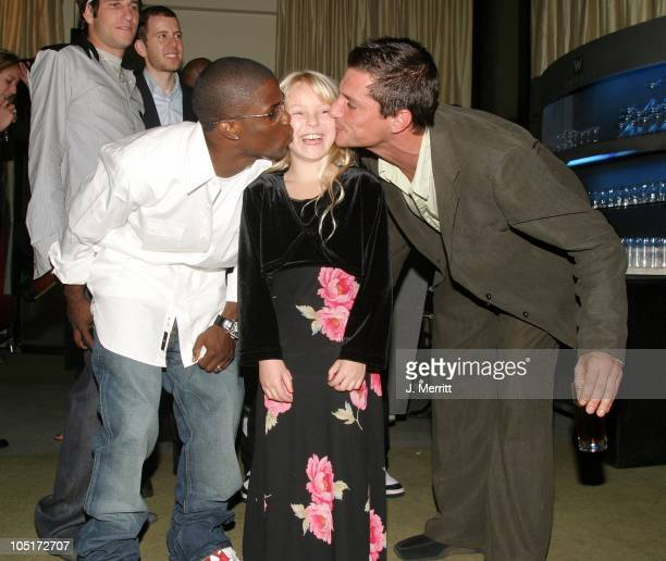 Kevin Hart Gianna Ballad Simon Rex during 'Scary Movie 3' Los Angeles Premiere After Party at The W Hotel in Westwood California United States