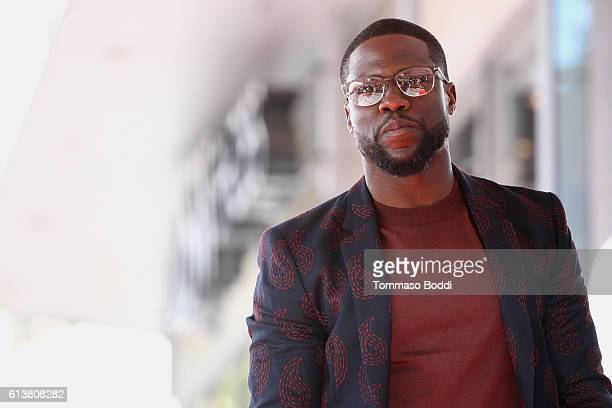 Kevin Hart is honored with a Star On The Hollywood Walk of Fame on October 10, 2016 in Hollywood, California.