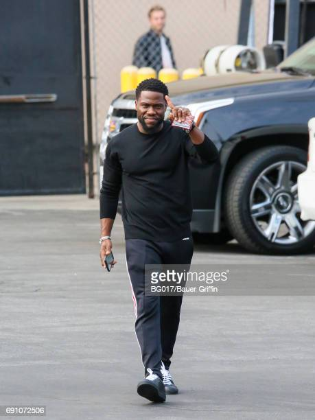 Kevin Hart is seen at 'Jimmy Kimmel Live' on May 31 2017 in Los Angeles California