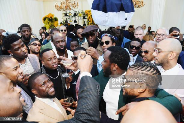 Kevin Hart JayZ Diddy Swizz Beats and Usher attend 2019 Roc Nation THE BRUNCH on February 9 2019 in Los Angeles California