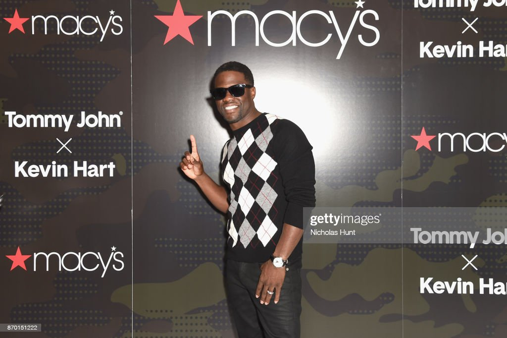 Kevin Hart Launches His Tommy John Underwear Collection