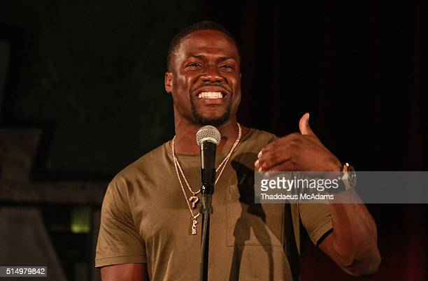 Kevin Hart performs at Uptown Comedy Club on March 11 2016 in Atlanta Georgia