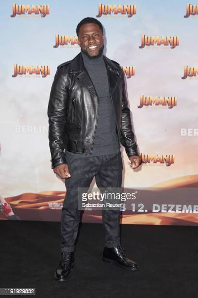 Kevin Hart poses during the press junket for JUMANJI: THE NEXT LEVEL at Hotel Adlon on December 04, 2019 in Berlin, Germany.