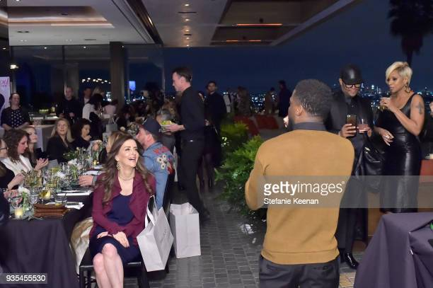 Kevin Hart speaks during The Hollywood Reporter and Jimmy Choo Power Stylists Dinner on March 20 2018 in Los Angeles California