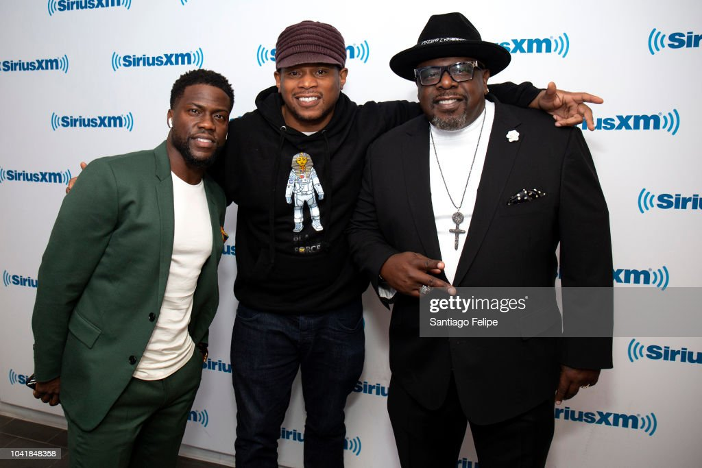 Kevin Hart, Sway Calloway and Cedric the Entertainer at
