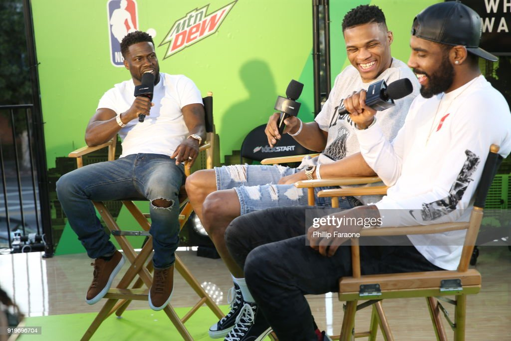 Mtn Dew Kickstart Brings Fans Closer Than Courtside at Courtside Studios During All-Star Weekend : News Photo