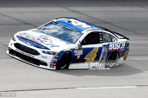 Kevin Harvick driver of the Busch Beer Throwback Ford practices for the Monster Energy NASCAR Cup Series Bojangles' Southern 500 at Darlington...