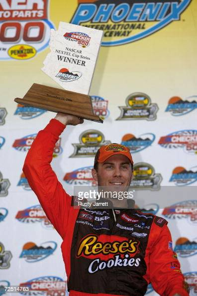 Phoenix Auto Parts >> Kevin Harvick, driver of the Reese's Cookies Chevrolet ...