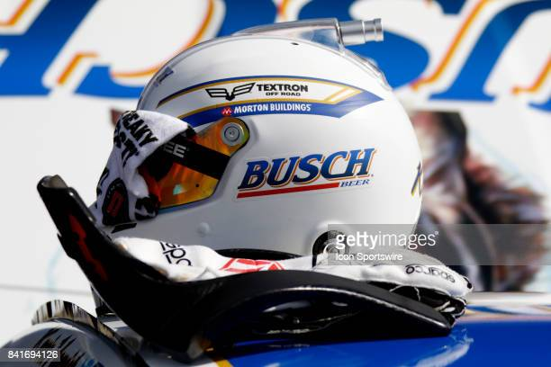 Kevin Harvick StewartHaas Racing Busch Beer Ford Fusion during practice for the Bojangles Southern 500 on September 1 2017 at Darlington Raceway in...