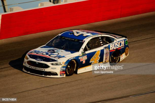 Kevin Harvick StewartHaas Racing Busch Beer Ford Fusion during the Bojangles Southern 500 on September 3 at Darlington Raceway in Darlington SC