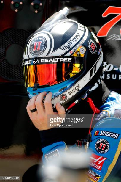 Kevin Harvick StewartHaas Racing Ford Fusion Busch Beer during practice for the 58th annual Food City 500 on April 13 2018 at Bristol Motor Speedway...
