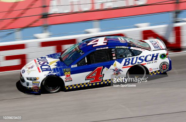 Kevin Harvick StewartHaas Racing Ford Fusion Busch Beer Throwback during practice for the 69th annual Bojangles Southern 500 on Friday August 31 2018...