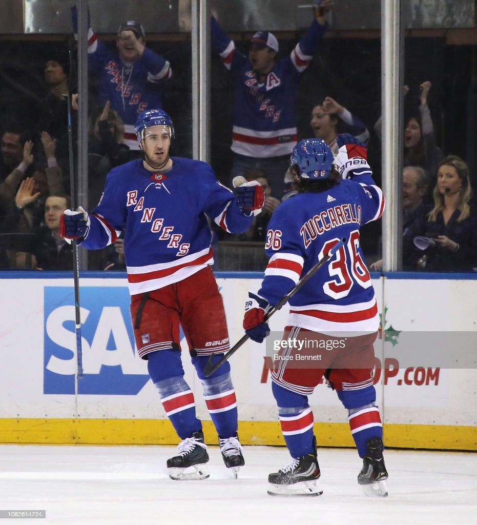 Arizona Coyotes v New York Rangers : News Photo
