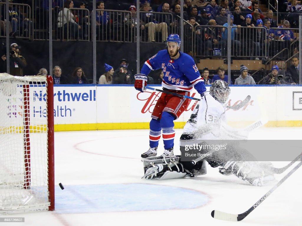 Los Angeles Kings v New York Rangers