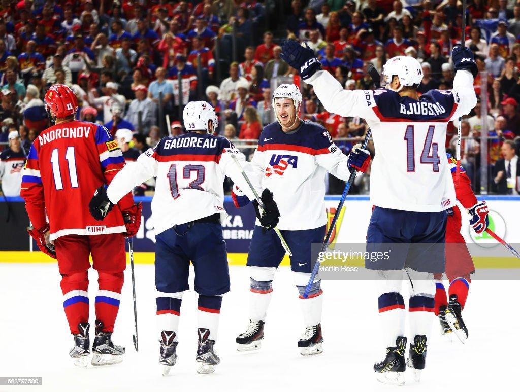 Russia v USA - 2017 IIHF Ice Hockey World Championship
