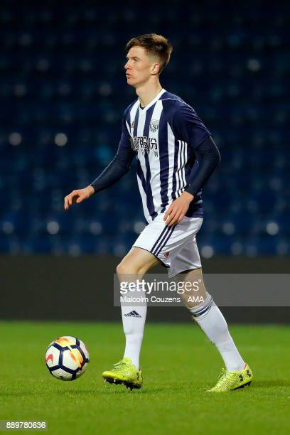 Kevin Healy of West Bromwich Albion during the FA Youth Cup game between West Bromwich Albion and Leyton Orient on December 5 2017 in West Bromwich...
