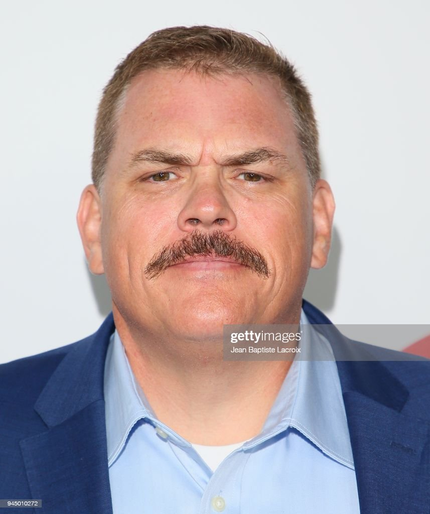 Kevin Heffernan attends the premiere of Fox Searchlight Pictures' 'Super Troopers 2' on April 11, 2018 in Los Angeles, California.