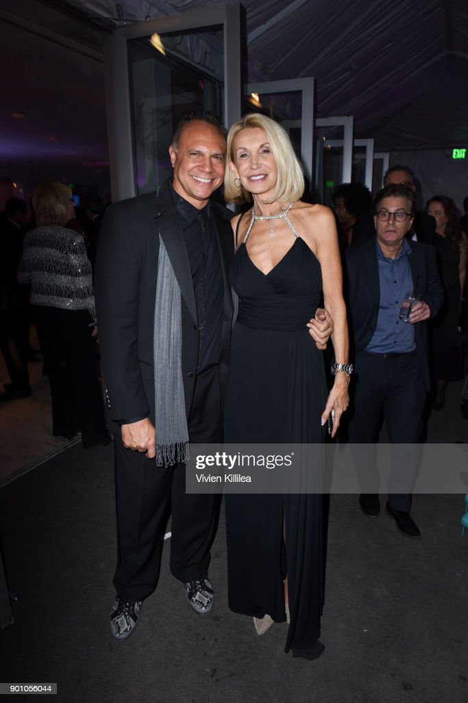 Kevin Henry and Dodi Henry attend the 29th Annual Palm Springs International Film Festival Awards Gala After Party at Parker Palm Springs on January 2, 2018 in Palm Springs, California.